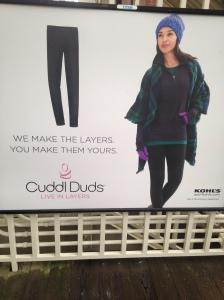 CuddlDuds ad