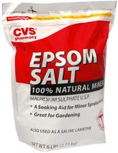 Epsom salt bag