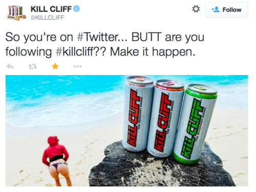 So you're on #Twitter... BUTT are you following #killcliff? Make it happen.