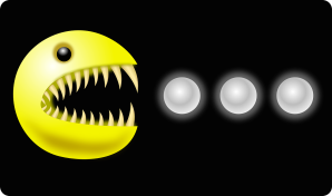 Monster version of Pac Man