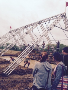 Rope Swing at Indianapolis Spartan Sprint 2015