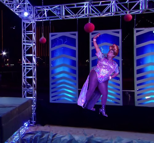 Latrice on Cannonball Incline
