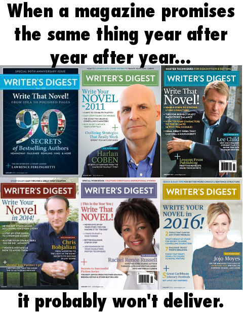 Writer's Digest covers