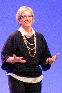 Female speaker (Actually Dr. Brene Brown)