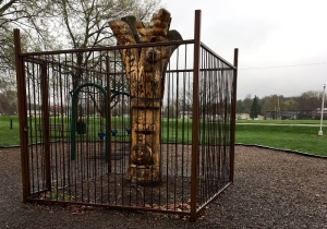 Tree jail